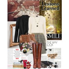 """Book Review: Lessons Learned by Sydney Logan"" by bittersweet89 on Polyvore"