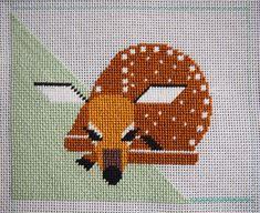 charley harper deer needlepoint