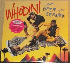 Whodini Open Sesame Sealed Vinyl Hip Hop Record Album by RASVINYL