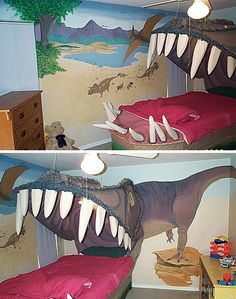 The T-Rex bed is pretty friggin awesome. But there are some other cool beds on there too