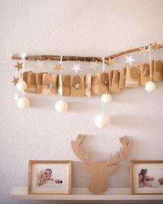 Comienza la cuenta atrás para Navidad y hoy en el blog os enseño nuestro calendario de adviento con actividades para cada día de Diciembre. Ya tenéis el vuestro? #calendarioadviento #adventcalendar