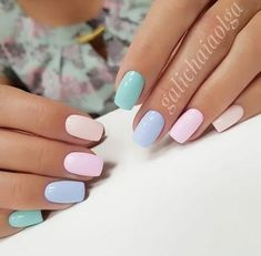 41 Classy Chic Nail Art Design for Summer Pastel Nails - Nail Designs Chic Nail Art, Chic Nails, Fun Nails, Classy Gel Nails, Classy Nail Art, Spring Nail Art, Nail Summer, Nail Art Ideas For Summer, Summer Nails 2018
