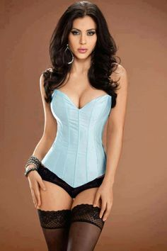 Cool water Tesa`s sweetheart corset - corset from EdenFantasys. Enjoy our sexy lingerie - small and plus sizes, sheer, crotchless and more. Sexy Lingerie, Belle Lingerie, Beautiful Lingerie, Pretty Lingerie, Hot Girls, Sexy Korsett, Sexy Women, Glamour, Clubwear