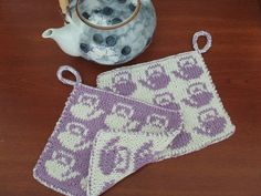 No gauge is given in the pattern. Pot Holder