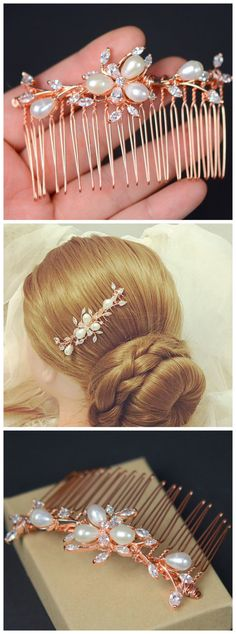 Clear crystal hair comb,Vintage Style Bridal Hair Comb,Wedding Hair Comb, Wedding Bridal Hair Accessories,Art Deco Headpiece,Victorian