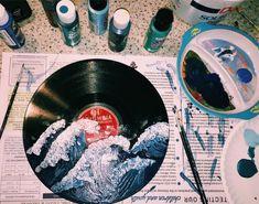 VSCO myaloleyy VSCO Room Ideas myaloleyy vsco ideas on canvas aesthetic vsco Art Hoe Aesthetic, Aesthetic Painting, Aesthetic Drawing, Aesthetic Vintage, Vinyl Platten, Record Wall Art, Vynil, Cd Art, Ideias Diy