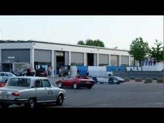porsche 911 VS ferrari VS bmw Csl - impressions from Classic World Lake Constance 2012.