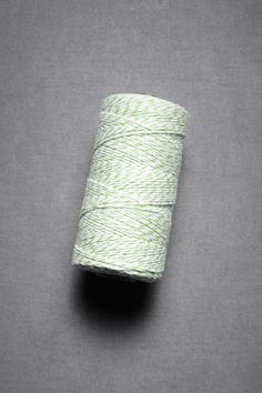 Baker's twine $20 for 240 yds, lots of different colors
