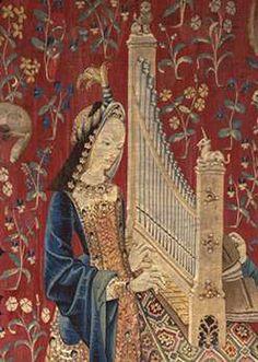 The Lady and the unicorn Hearing det1 - La Dame à la licorne — Wikipédia
