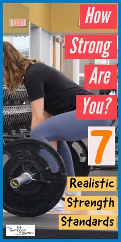 How strong are you? Where do you rank on these 7 tests of strength? of the population should be able to achieve these strength standards. Click through and find out! Best Gym Workout, Gym Workout Chart, Squat Workout, Workout Plans, Strength Training Workouts, Workout Exercises, Workout Tips, Fit Board Workouts, Fun Workouts
