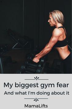Gym goer's fear pin