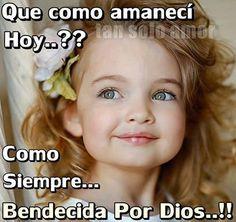 Bendecida por Dios