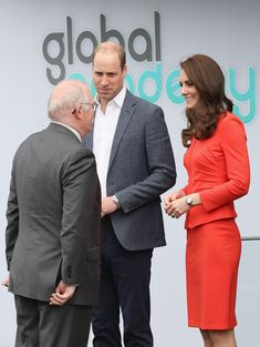 Kate Middleton Photos Photos - Catherine, Duchess of Cambridge and Prince Harry arrive at  the official opening of The Global Academy in support of Heads Together at The Global Academy on April 20, 2017 in Hayes, England.  The Global Academy is a state school founded and operated by Global, The Media & Entertainment Group and will educate students for careers in broadcast and digital media. - The Duke & Duchess of Cambridge and Prince Harry Officially Open the Global Academy