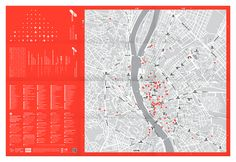 Budapest Design Map, 2016 on Behance