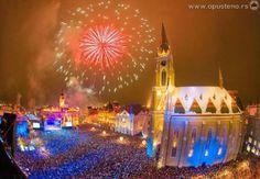 New Years Eve, Novi Sad, Serbia
