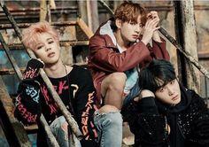 Jimin, Jungkook and Suga ❤️ BTS You Never Walk Alone concept photos