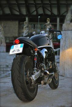 DSC_004A Cafe Racing, Cafe Racer Motorcycle, Registration Plates, Inazuma Cafe Racer, Cafe Racer Build, Plate Holder, Pinstriping, Bike Design, Motorcycles
