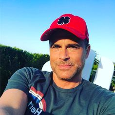 """11k Likes, 209 Comments - Rob Lowe (@robloweofficial) on Instagram: """"#sunday chill at home."""""""