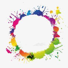 Background Wallpaper For Photoshop, Pop Art Wallpaper, Wallpaper Backgrounds, Frame Template, Art Template, Paint Brush Art, Free Birthday Invitations, Poster Background Design, Bright Background