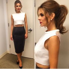 Pferdeschwanz von Maria Menounos - New Site Cute Ponytail Hairstyles, Ponytail Updo, Cute Ponytails, Simple Ponytails, Up Hairstyles, Wedding Hairstyles, Medium Hair Ponytail, Wedding Ponytail Hairstyles, Formal Ponytail