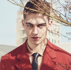 Hero Fiennes Tiffin for cover story ⁣