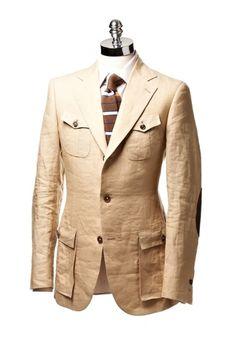 Practical + easy to wear. Only Fashion, Suit Fashion, Mens Fashion, Norfolk Jacket, Safari Vest, Designer Suits For Men, Linen Suit, Sports Jacket, Gentleman Style