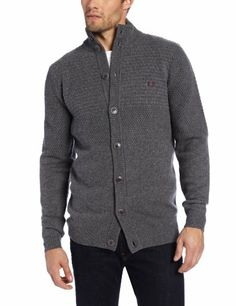 Fred Perry Men s Scaled Pique Funnel Cardigan 46580c1121