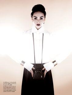 Jessica Amornkuldilok by Thananon Thanakornkarn for Numero Thailand July 2013