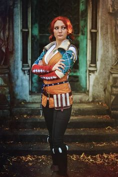 Cosplayer: Santatory Photographer: Starbit Photography Character: Triss Merigold From: The Witcher 3 Country: Norway