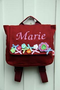 ♥ Herzilein Wien ♥ Diaper Bag, Backpacks, Bags, Fashion, Embroidery, Kunst, Handbags, Moda, Fashion Styles