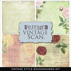 Far Far Hill: Freebies Vintage Style Backgrounds