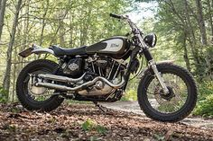When Filippo Barbacane of Officine Rossopuro in Abruzzo, Italy, built a Harley chopper it was a radical departure from his usual creations. Filippo has made a name for himself building some of the most beautifully styled custom Moto Guzzi's you're ever likely to see. So when he went down the path of a chopper, based on an Ironhead no less, it sure got tongues wagging. But so good was the...
