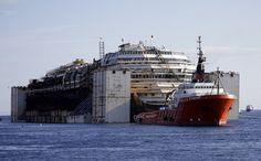 Costa Concordia last trip