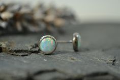 Opal stud earrings £15.00