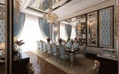 ELLdEkor ibrahim selvi Murat Gülerçoban 3d Proje Dekorasyon Tasarım    Klasik Salonlar / Classic Livingroom