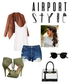 """""""Untitled #37"""" by tyroweowens on Polyvore featuring Topshop, Michael Antonio and IMoshion"""