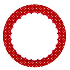 Red tag with white polka dots Printable Tags, Printables, Framed Wallpaper, Ladybug Party, Bottle Cap Images, Borders And Frames, Minnie Mouse Party, Red Riding Hood, Clipart
