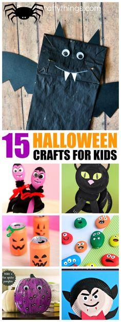12 Halloween Crafts and Treats Fun halloween crafts, Halloween - halloween decorations for kids to make