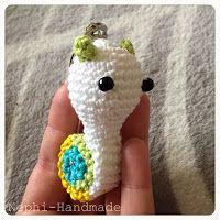 Nephi-Handmade - Schlüsselanhänger Schnecke & Schildi #crochet #häkeln