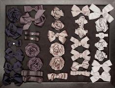 Window 23: Prinsessefin hair accessories