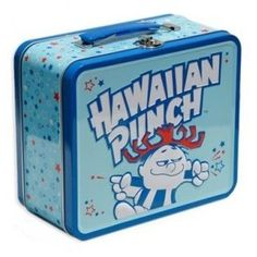 Easy to bring a healthy lunch when I have this fun lunch box. Lunch Box Thermos, Vintage Lunch Boxes, Cool Lunch Boxes, Metal Lunch Box, School Lunch Box, School Lunches, Hawaiian Punch, Whats For Lunch, Lunch Containers