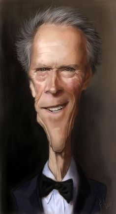 The Clint, caricature