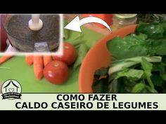Como fazer caldo caseiro de legumes