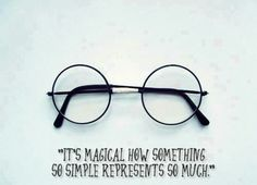 It's magical how something so simple represents so much ❤ #hp #harrypotter