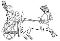 Egyptian Chariot 4dogarts.com