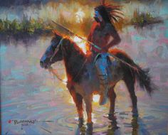 Pawnee on The Cheyenne by Dan Mieduch kp
