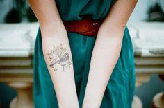 bird tattoo.