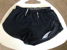 women's brooks running shorts black reflective S #Brooks #Shorts