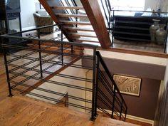 custom modern residential railing