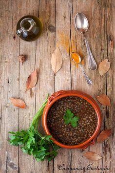 Zuppa lenticchie e curcuma